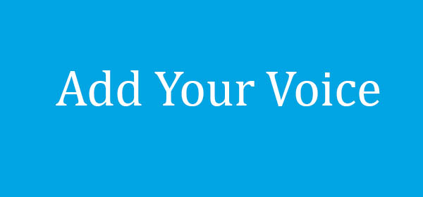 Add your voice button 0